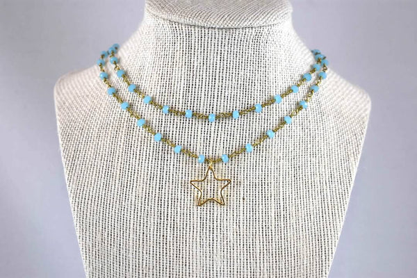 Elsie Clara Double Layer Necklace