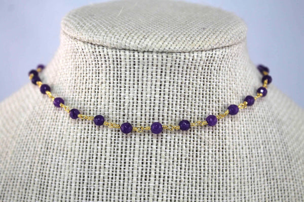 Violet Carolina Necklace