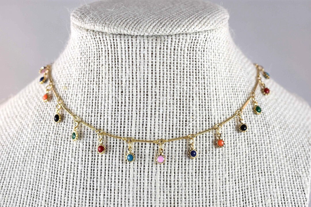 Liz Ann Rainbow Necklace