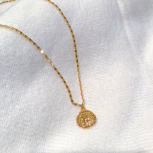 Hazel Corin Coin Necklace