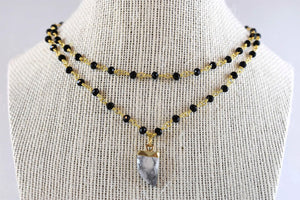 Aubree Kennedy Double Layer Necklace