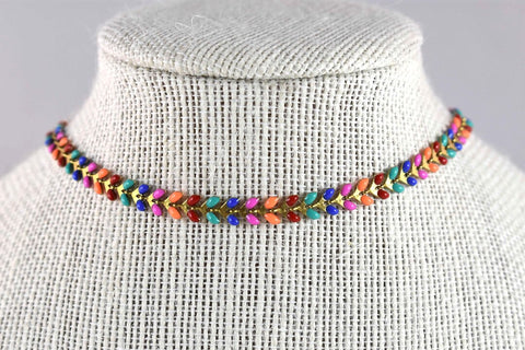 Natalia Piper Rainbow Necklace