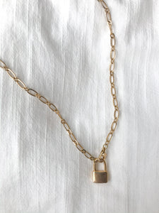 Hannah Reagan Padlock Necklace