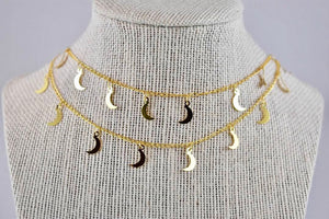 Josephine Valeria Double Layer Necklace