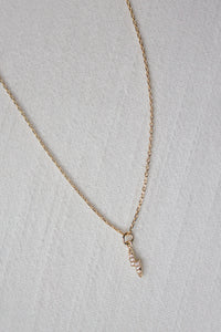Dainty Lightning Bolt Necklace