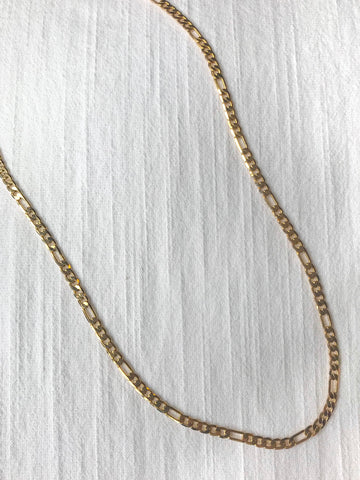 Thick Gold Curb Chain