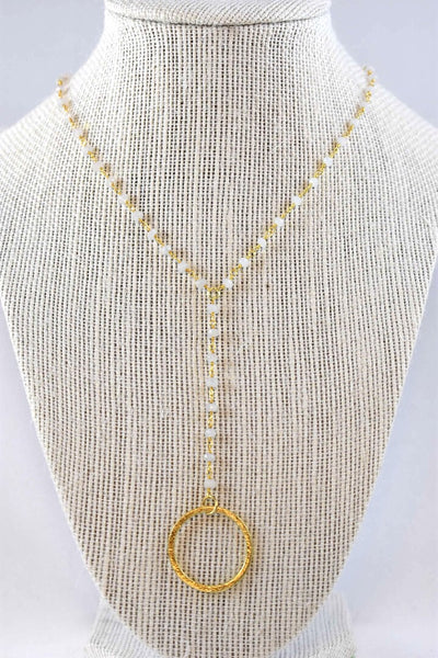 Logan Camila Lariat Necklace
