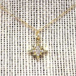 Dainty North Star Necklace