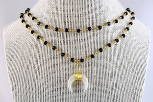 Layla Audrey Double Layer Necklace