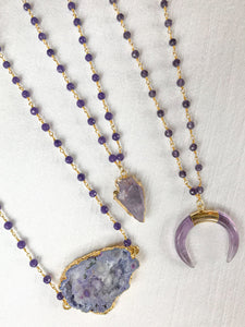 Purple Pendants