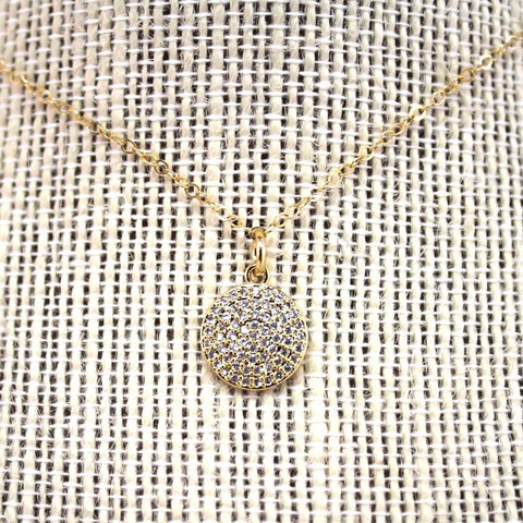 Dainty Coin Necklace