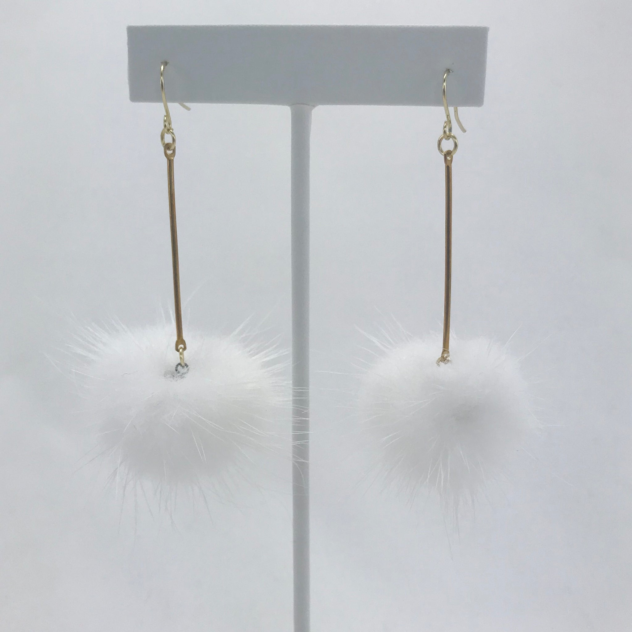 Brianna Emilia Pom Pom Earrings