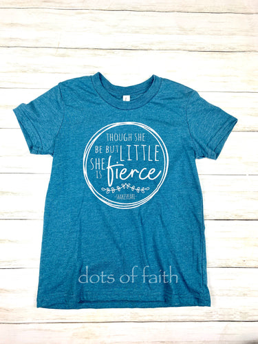 she is fierce youth shirt