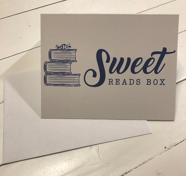 Sweet Reads Blank Card