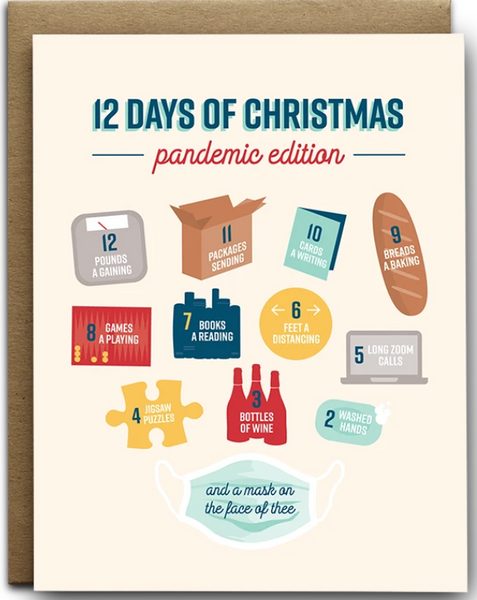 Christmas: 12 Days Pandemic Edition