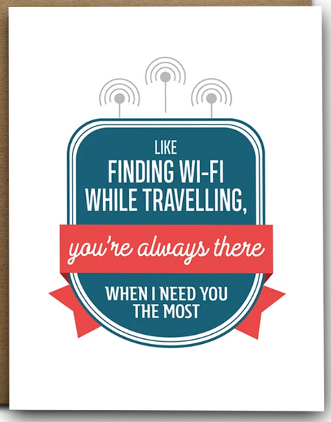 Like WiFi When Travelling