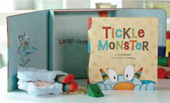 Tickle Monster Gift Set