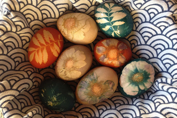 Easter Creativity - Natural Dye Colored Easter Eggs