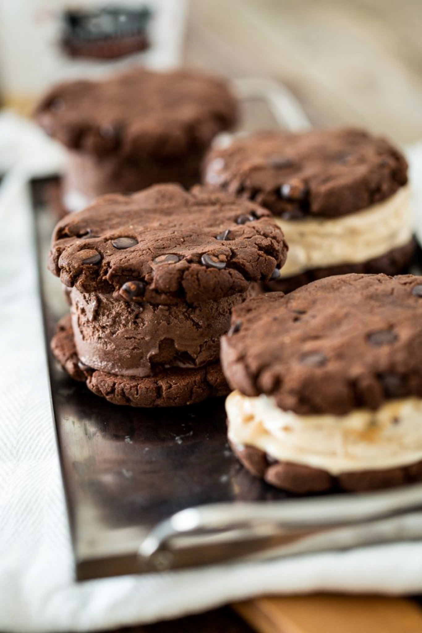 Vegan Ice Cream Sandwiches