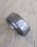 Custom Hammered Damascus Steel Ring, Width:  6, 8, or 10mm
