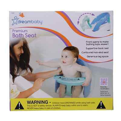 New Dreambaby Premium Deluxe Baby Safety Bath Seat Dream Blue - BumpsieDaisy