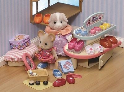 NEW Sylvanian Families Village Shoe Shop Play Set 4862 - BumpsieDaisy