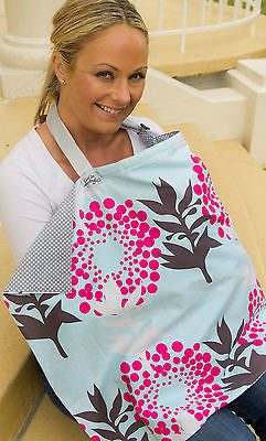 New KissKiss HugHug Breastfeeding Cover Monsoon Floral Kiss Kiss Hug Hug - BumpsieDaisy