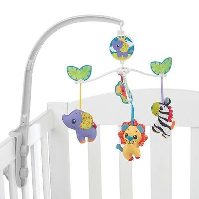 New Playgro Jungle Friends Musical Cot Mobile 0m+ - BumpsieDaisy