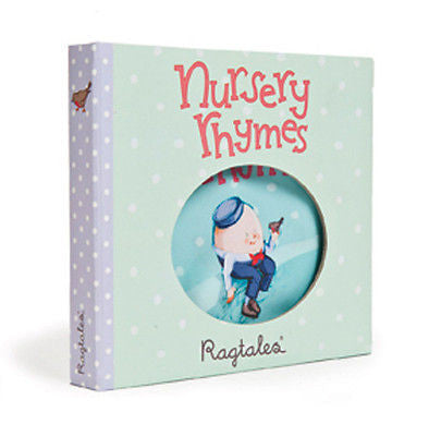 New Ragtales Nursery Rhymes Baby Soft Fabric Rag Book in Storage Gift Box 0m+ - BumpsieDaisy