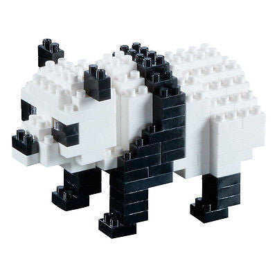 NEW Brixies Panda Bear 127 Mini Pieces Bricks Construction Kit Level 2 8+ - BumpsieDaisy