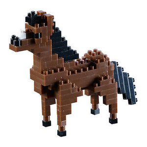 NEW Brixies Horse 107 Mini Pieces Bricks Construction Kit Level 1 8+ - BumpsieDaisy