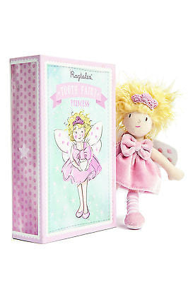 New Ragtales Tooth Fairy Princess Doll Soft Toy in Storage Gift Box 0m+ - BumpsieDaisy