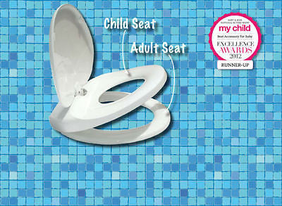 NEW Lupi Lu Dual Toilet Seat for the whole family Adult & Child Seat in One - BumpsieDaisy