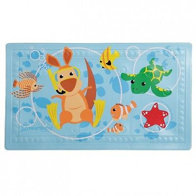 New Dreambaby Anti-Slip Heat Sensitive Bath Mat Australian Animals Dream Baby - BumpsieDaisy