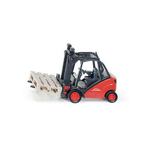 NEW Siku Linde Forklift Truck 1:50 Die Cast Toy Car 1722 Fork Lift - BumpsieDaisy