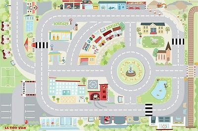 Brand New Le Toy Van My First Town Car Playmat Play Mat - BumpsieDaisy