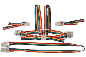 New Dreambaby Safety Rainbow Harness & Reins Walking Pram Chair Baby Dream - BumpsieDaisy