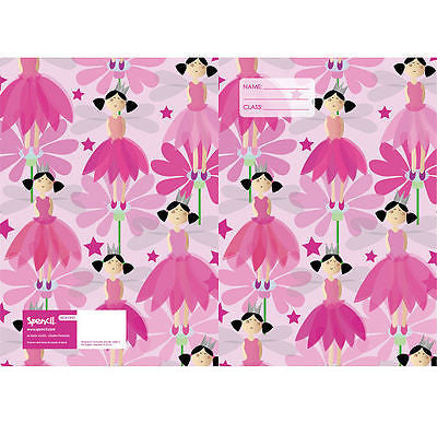 Spencil Crown Princess A4 School Book Cover - BumpsieDaisy