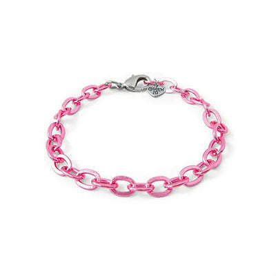 NEW Charm It Pink Chain Link Bracelet Girls Jewellery - BumpsieDaisy