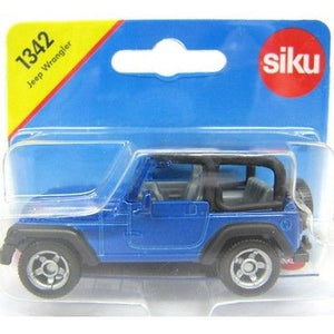 NEW Siku Jeep Wrangler Die Cast Toy Car 1342 - BumpsieDaisy
