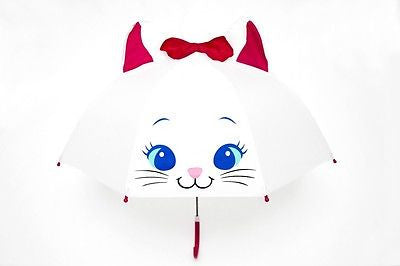 NEW Cat Kitten Design Childrens Girls Kids Umbrella Pop Up Ears & Bow - BumpsieDaisy