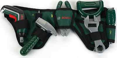NEW Bosch Tool Belt with Spanner Screwdriver Hammer Pliers Junior Mini Play Set - BumpsieDaisy