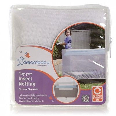 New Dreambaby Playpen Play Yard Portacot Insect Mosquito Net Netting Dream Baby - BumpsieDaisy