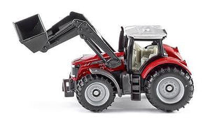 NEW Siku Massey Ferguson Tractor with Front Loader Die Cast Toy Car 1484 - BumpsieDaisy