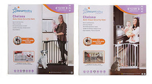 New Dreambaby Chelsea Swing Closed Security Baby Pet Safety Gate Dream - BumpsieDaisy