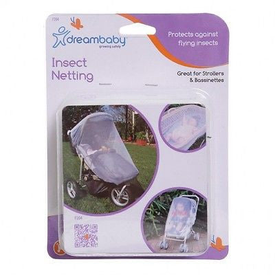New Dreambaby Stroller Pram Bassinette Insect Mosquito Net Netting Dream Baby - BumpsieDaisy