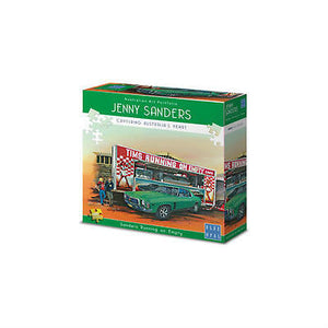 NEW Blue Opal Jenny Sanders Holden Running on Empty 1000PC Deluxe Puzzle Jigsaw - BumpsieDaisy