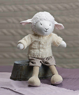 New Ragtales Dylan the Lamb Sheep Baby Soft Hand Finished Toy Gift 0m+ - BumpsieDaisy