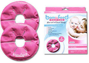 New Born to Feed Breast Feeding Care Contoured Gel Pack Warm & Cool Therapy 2PK - BumpsieDaisy