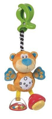 New Playgro Jungle Journey Dingly Dangly Baby Toy Squeaker Rattle Tiger - BumpsieDaisy